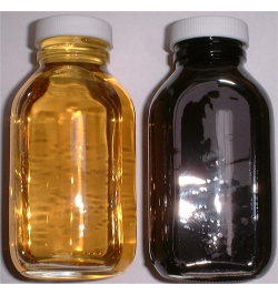 Tap Changer Oil After and Before Filtration